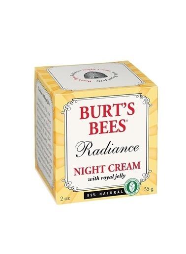 Burt's Bees Radiance Night Cream - Arı Sütü İçeren Gece Bakım Kremi 55 gr Renksiz
